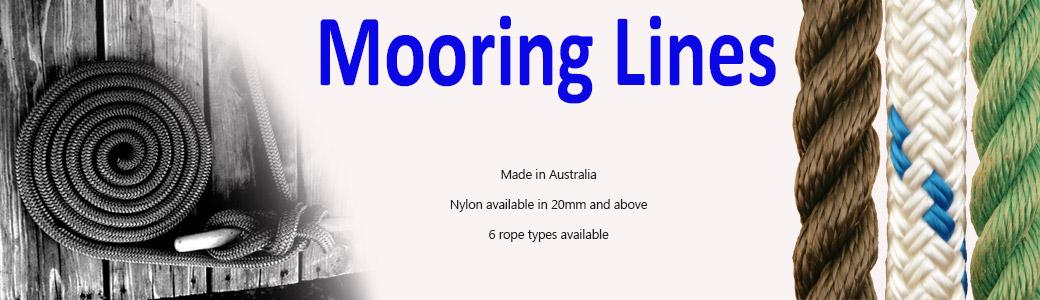 Mooring Lines   Sydney Rope